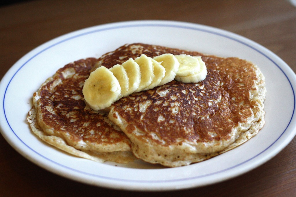 Pancakes, or flapjacks depending on where you're from